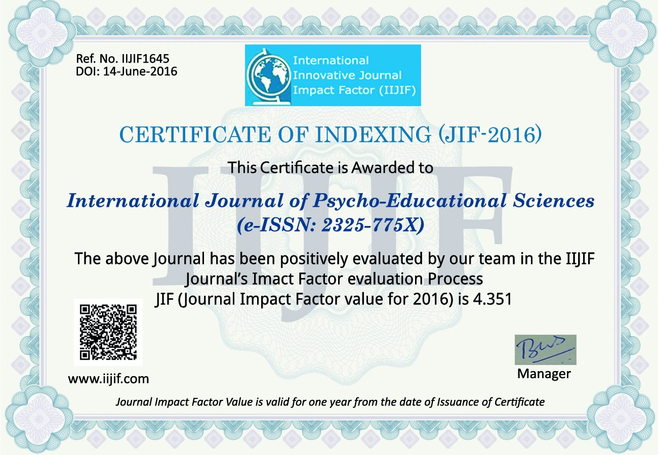 Impactfactorscore-certificate-2016